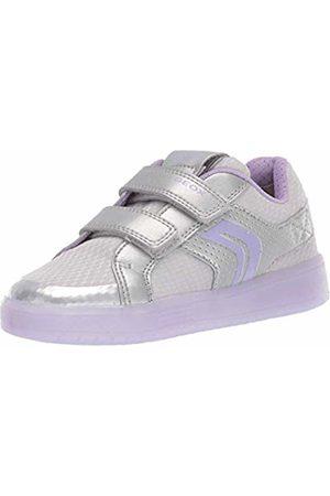 Geox Girls' J Kommodor C Low-Top Sneakers, ( /Lilac C1316)