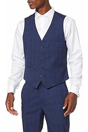 Burton Men's Tonal Prince of Wales Slim Waistcoat 110