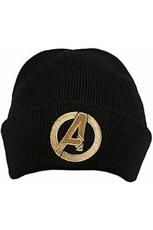 Marvel Men's Avengers Logo Beanie, ( Blk)