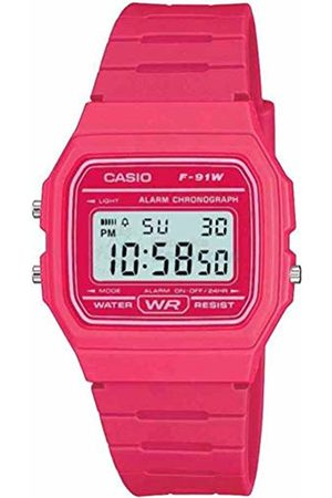 Casio Men's Digital Watch with Resin Strap F-91WC-4AEF