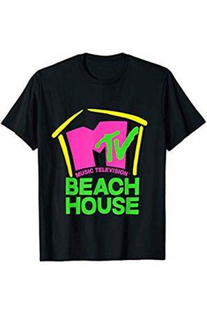 MTV Beach House Logo Cut Up Tie Dye T-Shirt