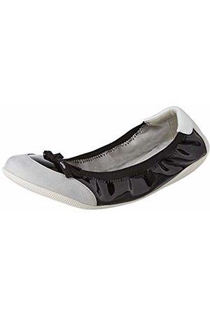 Les P'tites Bombes Women's Elsa Closed Toe Ballet Flats (Noir 020) 5/5.5 UK