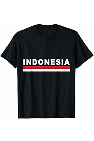 Sporty Indonesian Flag Designs Sports-style National Flag of Indonesia T-Shirt