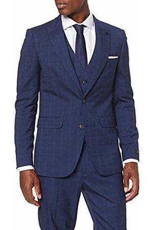 Burton Men's Tonal Prince of Wales Slim Suit Jacket ( 110)