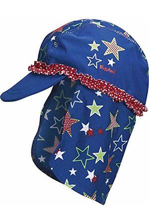 Playshoes Girl's UV Protection Swim Cap, Sun Hat Stars
