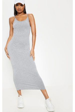 PRETTYLITTLETHING Drop Arm Hole Vest Maxi Dress