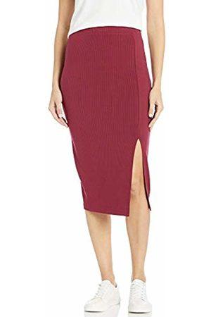 The Drop Veronique High-Waisted Slit Skirt