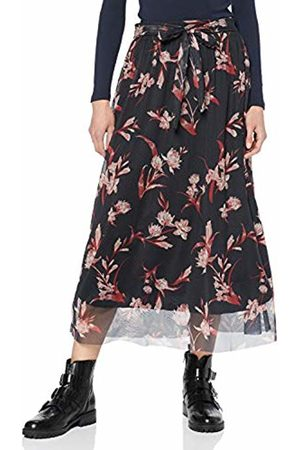 Pieces Women's Pcbenedicte Ankle Mesh Skirt AOP: