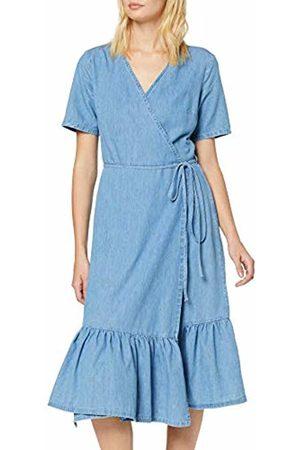 New Look Women's Wrap Tier Dress Victoria (6252776) Mid 40