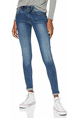 G-Star Women's Lynn Mid Waist Super Skinny Jeans, (Faded 9136-A889)