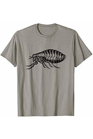 The New Antique Vintage Flea Insect Print T-Shirt