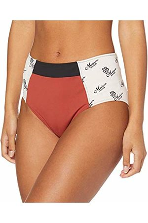 Scotch&Soda Women's Colourblocked High Rise Bikini Bottom (Combo M 0592)