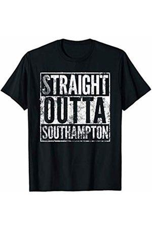 Southampton T Shirt Emporium Straight Outta Southampton T Shirt. Distressed Effect