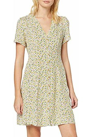New Look Women's W45 Sp Arya Ditsy Btn Thru Tea (6276475) Dress