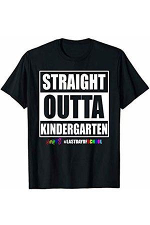 Last Day Of School Kindergarten apprel Happy Last Day Of School Kindergarten Teacher Straight Outta T-Shirt