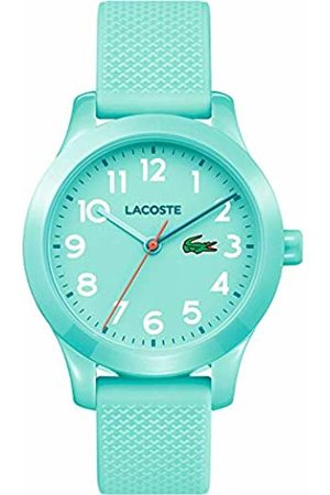 Lacoste Unisex-Kids Analogue Classic Quartz Connected Wrist Watch with Silicone Strap 2030005