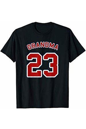 Grandma Of 23 Retro Vintage Style Sports Shirts Retro Style Grandma Sports Gift Grandma Of 23 T-Shirt