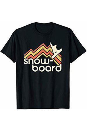 Winter Sport Shirts by CheesyB Retro Snowboard Vintage Snowboarder Snow Sports T-Shirt