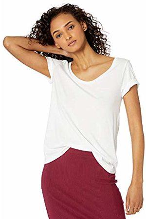 The Drop Emily Short Sleeve Scoop Neck Drapey T-Shirt