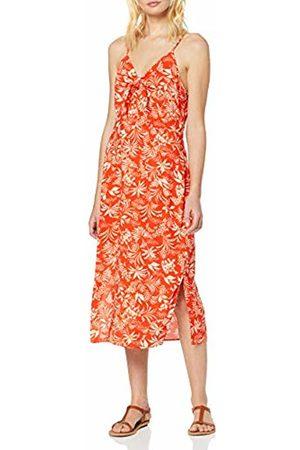 New Look Women's Ec Elodie Trop Tie FRNT Midi (6248913) Dress, ( Pattern 69)