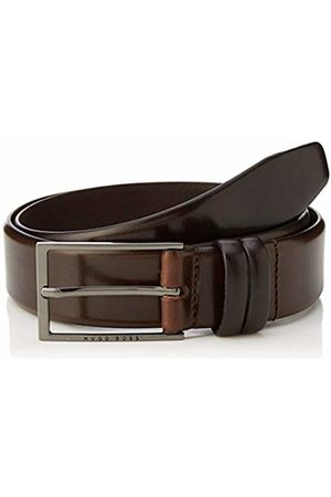 HUGO BOSS Men's Carmello Belt, (Dark 202)