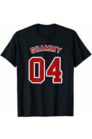 Grammy Of 04 Retro Vintage Style Sports Shirts Retro Vintage Style Sports Grandma Gift Grammy Of 04 T-Shirt