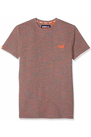 Superdry Men's Label Vintage Embroidery S/s Tee T-Shirt, (Coral Space Dye B3i)