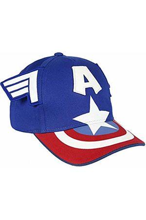 Artesanía Cerdá Girl's Gorra Innovación Avengers Capitan America Flat Cap, Rojo