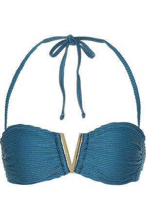 Heidi Klein Ubud halterneck bikini top