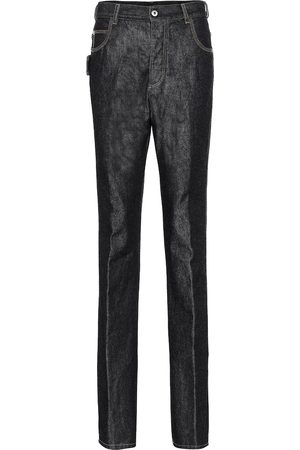 Bottega Veneta Women Straight - Mid-rise straight jeans