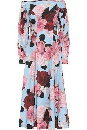Erdem Exclusive to Mytheresa – Pollina floral cotton-poplin dress