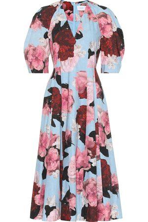Erdem Exclusive to Mytheresa – Cressida floral cotton-poplin dress
