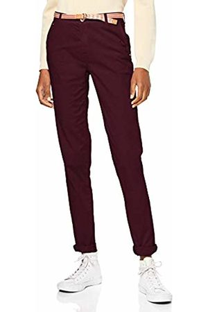 Esprit Women's 039ee1b013 Trouser, (Bordeaux 600)