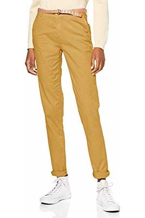 Esprit Women's 039ee1b013 Trouser, (Brass 720)