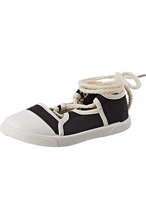 ZIPPY Girls' Zapatillas Con Cordones para Niña Low-Top Sneakers, (Dress 19/4024 Tc 185)
