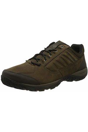 Columbia Men Shoes - Men's Hiking Shoes, RUCKEL RIDGE PLUS, (Cordovan, Mud)