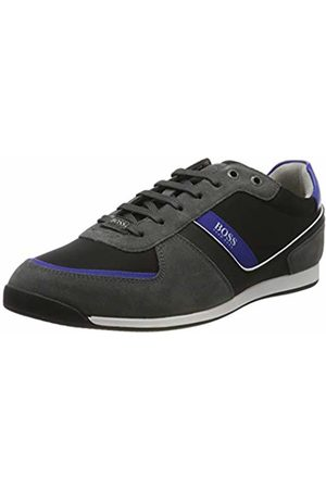 HUGO BOSS Men's Glaze_Lowp_nysd Low-Top Sneakers, (Dark 21)