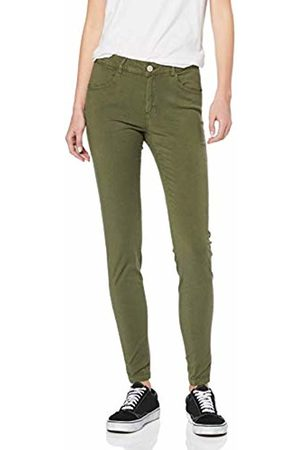 Noisy May NOS DE Women's Nmtribeca Nr Skinny Pants Trouser, Olive Night