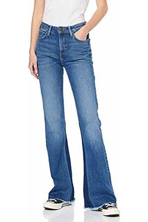 Lee Women's Breese Flared Jeans, Finish Lt