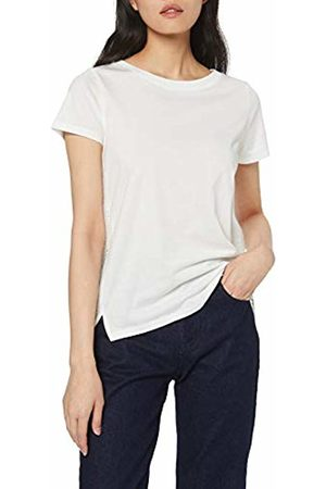 s.Oliver Women's 21.905.32.4269 T-Shirt, Off- Off- (Creme 0210)