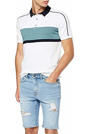 New Look Men's Ripped Skinny Shorts