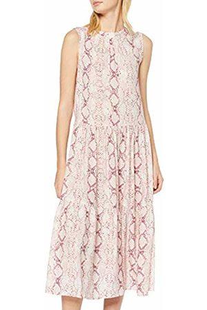 New Look Women's Ec Lola Snake Tier Smock Midi (6247791) Dress