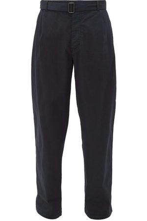 Raey Wide Leg Cotton Chino Trousers - Mens