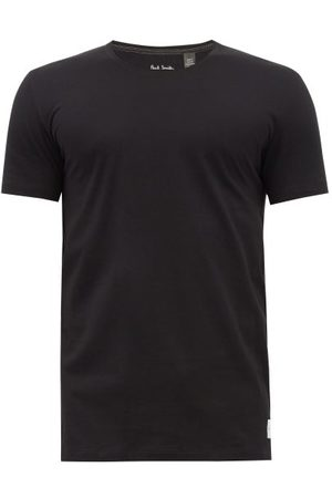 Paul Smith Overlocked Cotton-jersey T-shirt - Mens