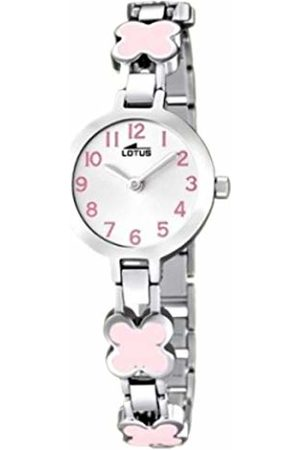 Lotus Girls Analogue Quartz Watch with Stainless Steel Strap 15828/2