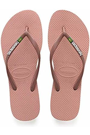 Havaianas Women's Slim Brasil Logo Flip Flops