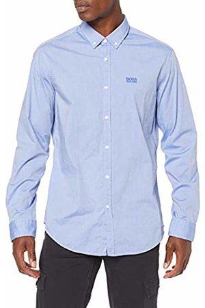 HUGO BOSS Men's Biado_r Casual Shirt, (Medium 423)