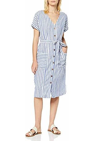 Dorothy Perkins Women's Linen Look Stripe Dress