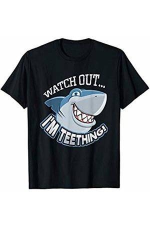 Young Scientist Clothing Watch Out I'm Teething Great White Shark T-Shirt
