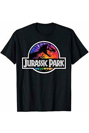 Jurassic Park Boys Ties - Tie Dye Fill Classic Logo T-Shirt